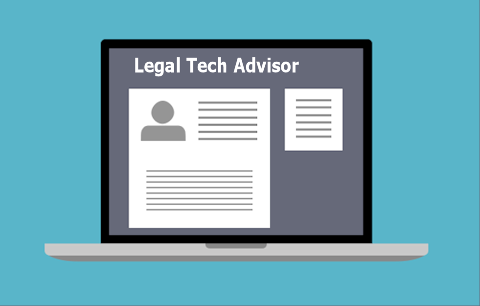 Law Firm Website with Legal Tech Advisor on It